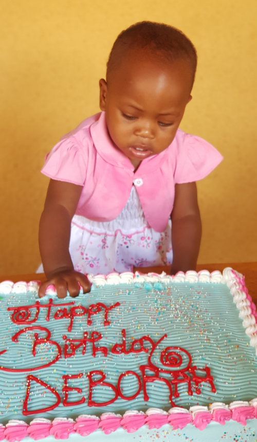 Deborah's First Birthday